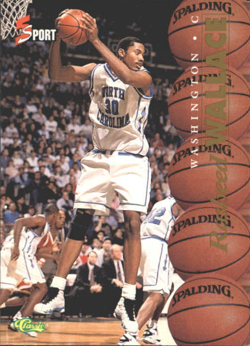 1995 Classic Five Sport #4 Rasheed Wallace