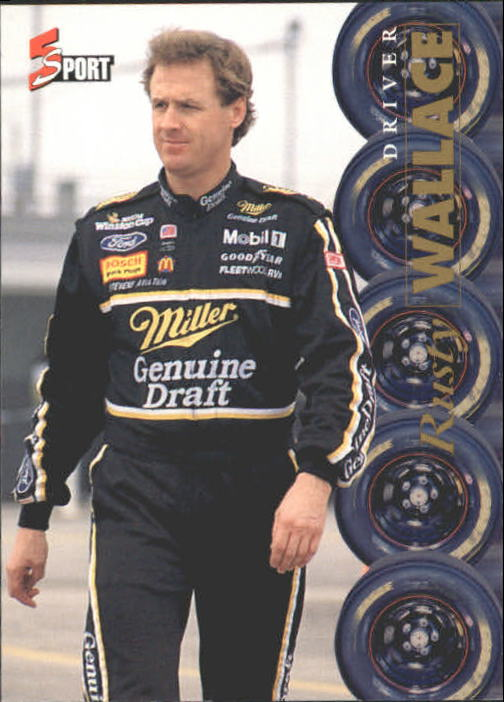 1995 Classic Five Sport #165 Rusty Wallace