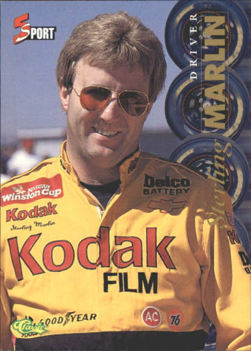 1995 Classic Five Sport #169 Sterling Marlin