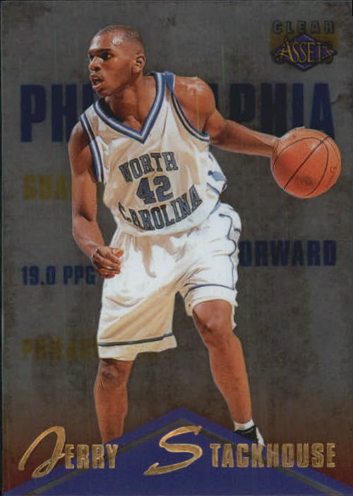 1996 Clear Assets #6 Jerry Stackhouse