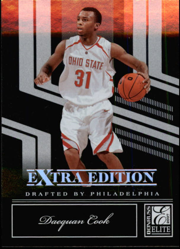 2007 Donruss Elite Extra Edition #58 Daequan Cook
