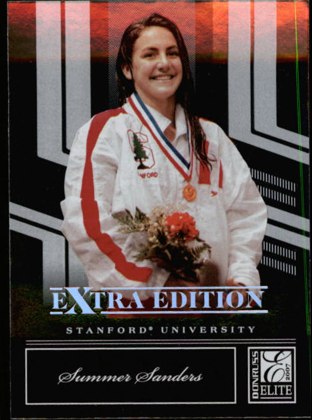 2007 Donruss Elite Extra Edition #88 Summer Sanders
