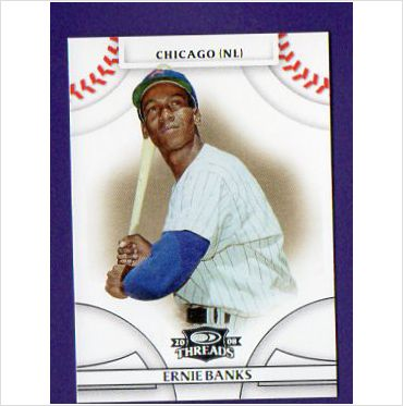 2008 Donruss Threads #15 Ernie Banks