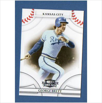 2008 Donruss Threads #27 George Brett
