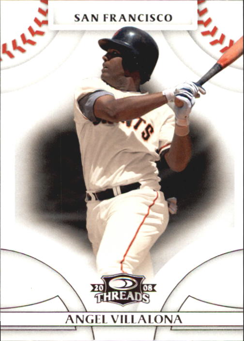 2008 Donruss Threads #90 Angel Villalona