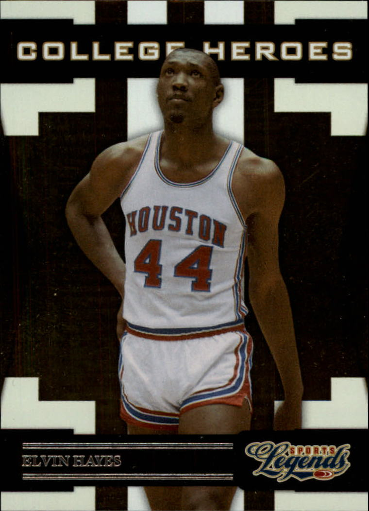 2008 Donruss Sports Legends College Heroes #7 Elvin Hayes