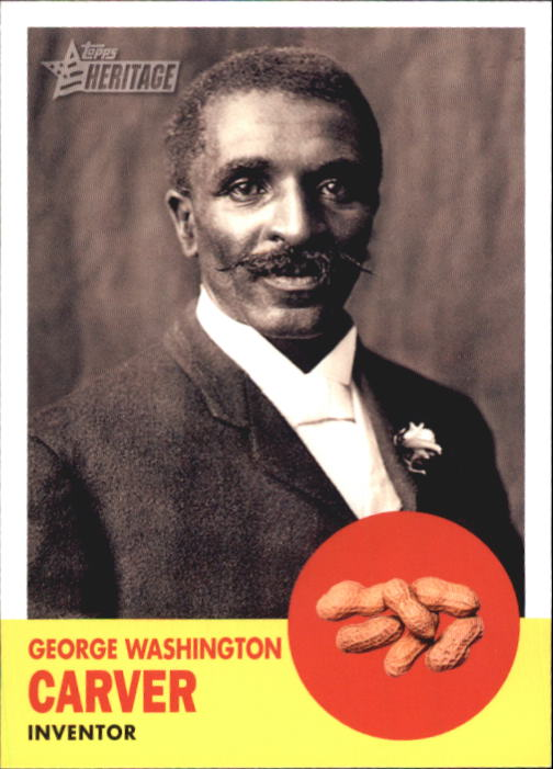 2009 Topps American Heritage #43 George Washington Carver