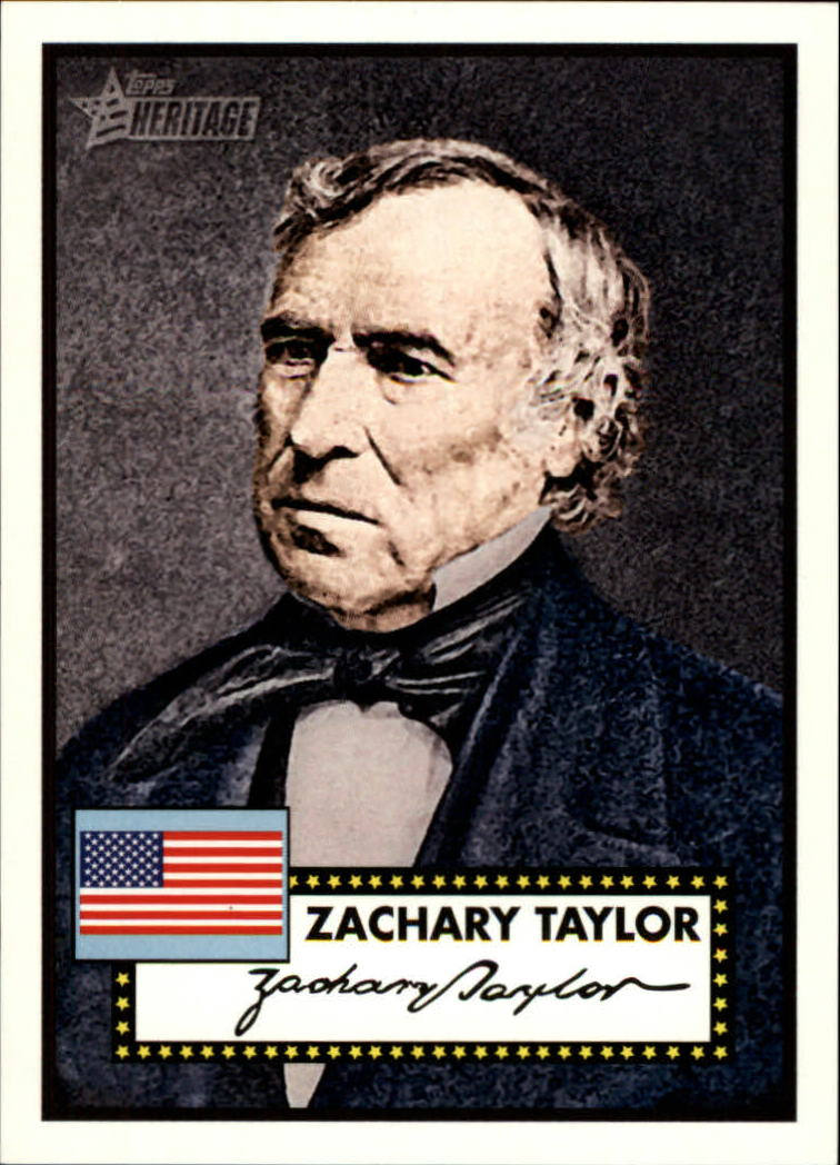 2009 Topps American Heritage American Presidents #AP12 Zachary Taylor