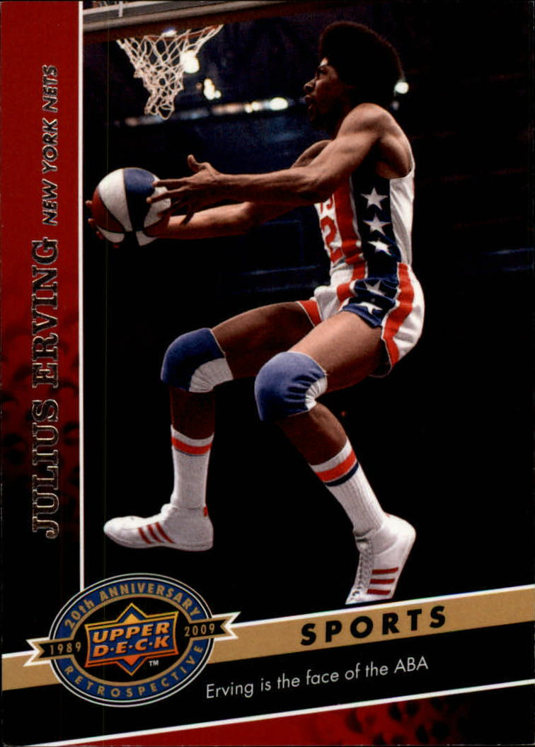 2009 Upper Deck 20th Anniversary #1109 Julius Erving