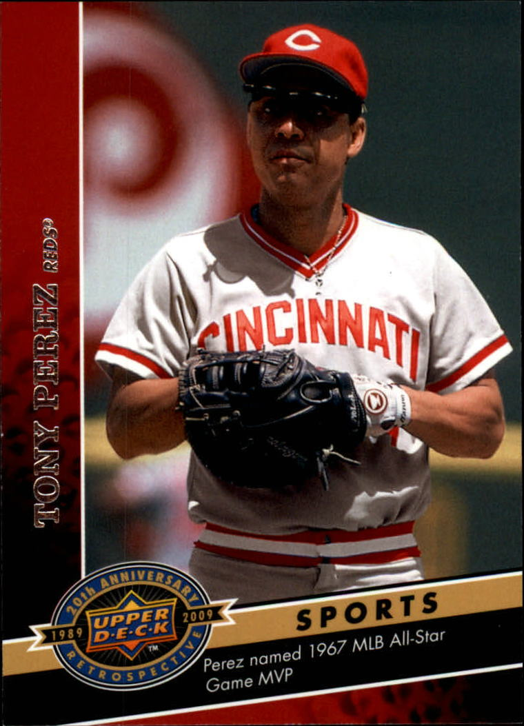2009 Upper Deck 20th Anniversary #1499 Tony Perez