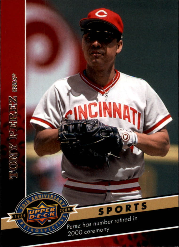 2009 Upper Deck 20th Anniversary #1500 Tony Perez