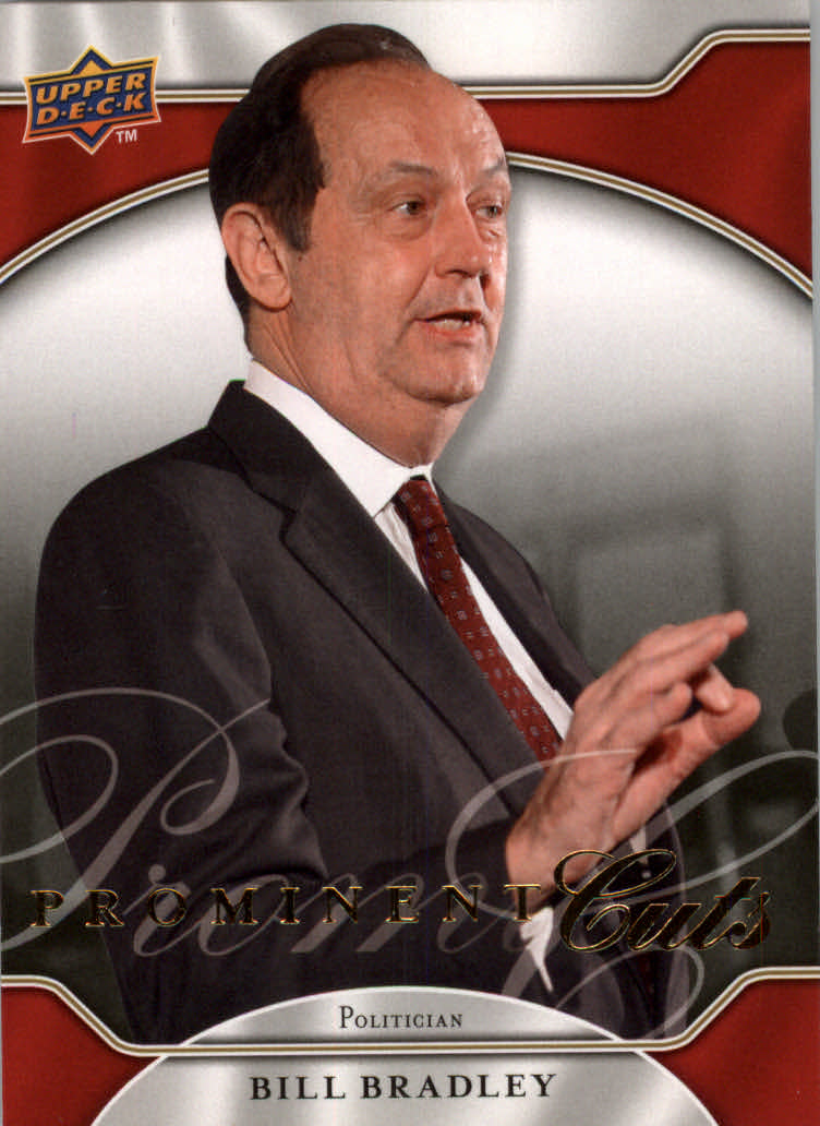 2009 Upper Deck Prominent Cuts #3 Bill Bradley