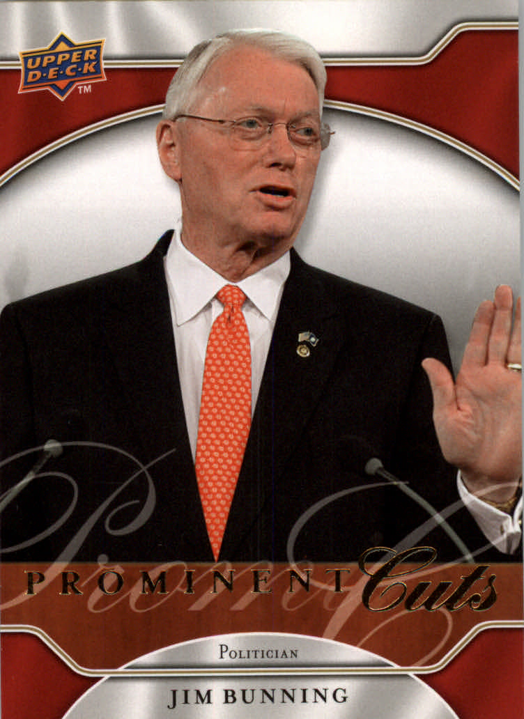 2009 Upper Deck Prominent Cuts #4 Jim Bunning