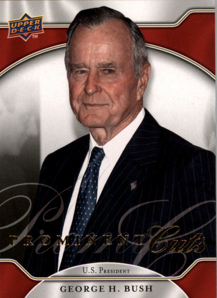 2009 Upper Deck Prominent Cuts #5 George H. Bush
