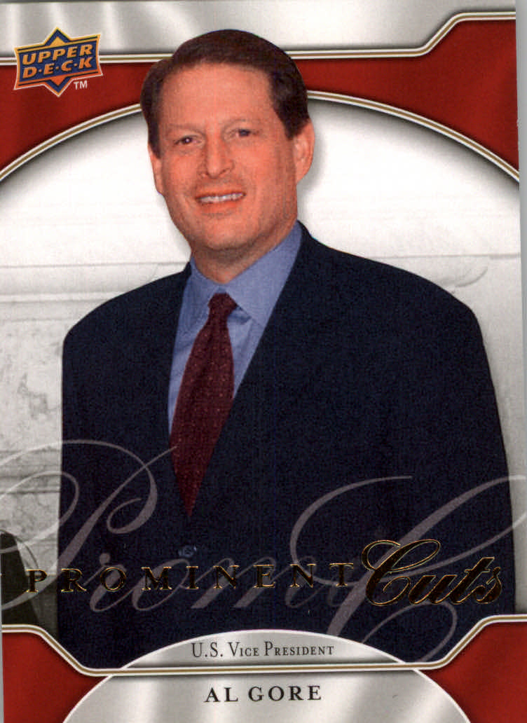 2009 Upper Deck Prominent Cuts #12 Al Gore