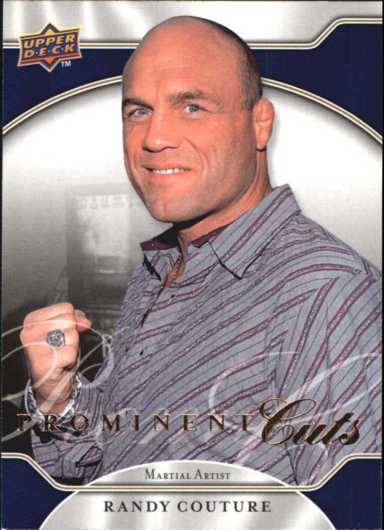 2009 Upper Deck Prominent Cuts #39 Randy Couture