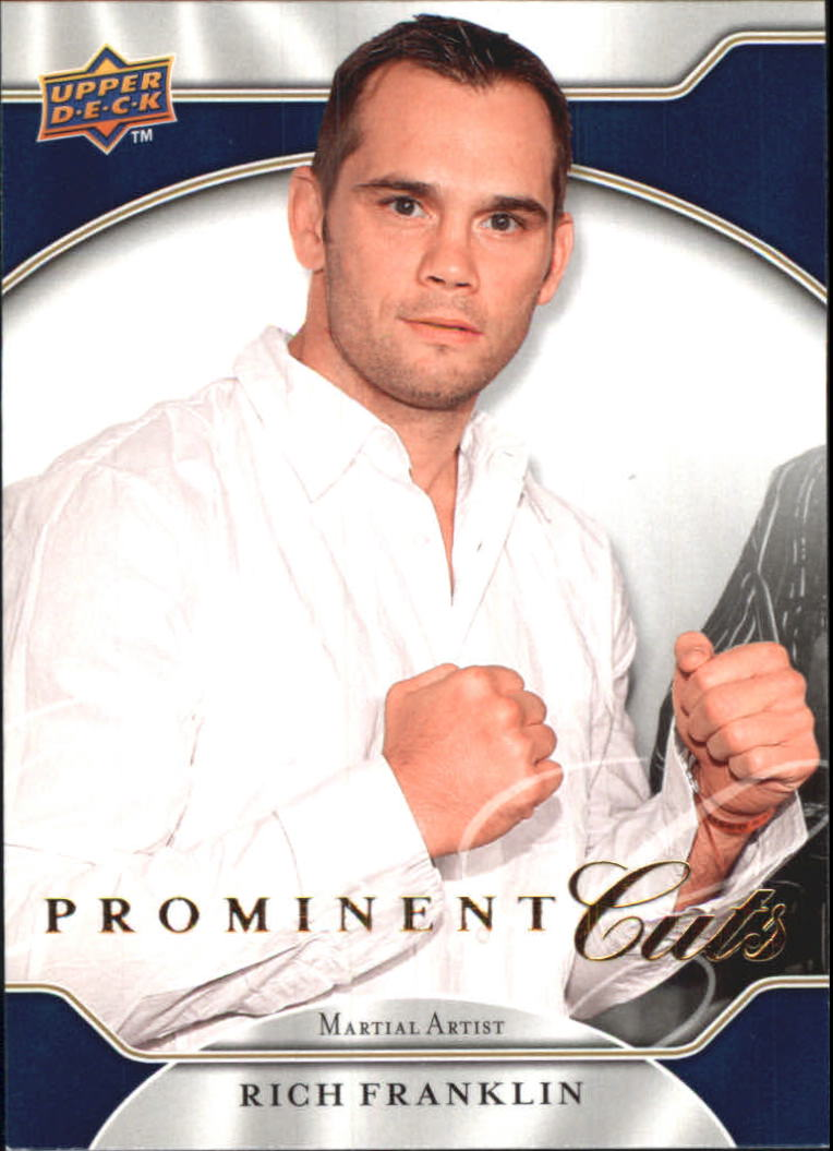 2009 Upper Deck Prominent Cuts #42 Rich Franklin