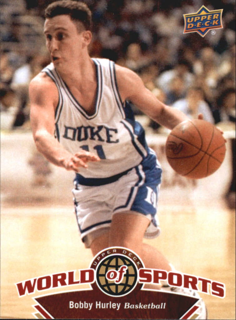 2010 Upper Deck World of Sports #7 Bobby Hurley
