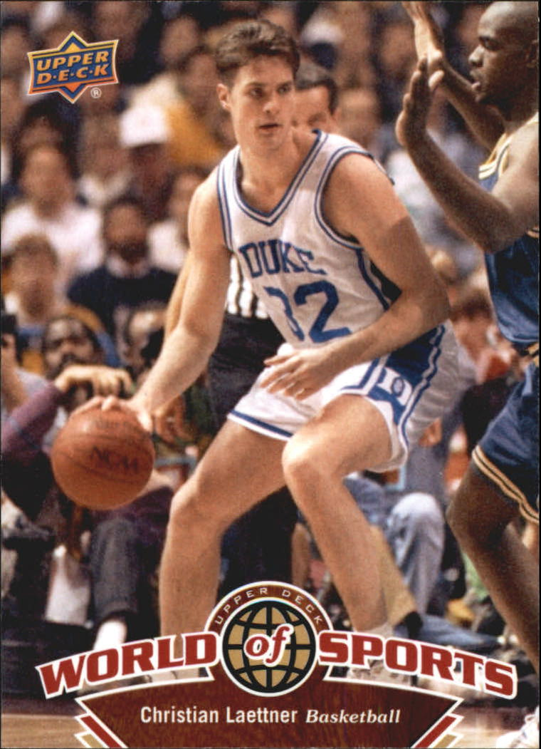 2010 Upper Deck World of Sports #8 Christian Laettner