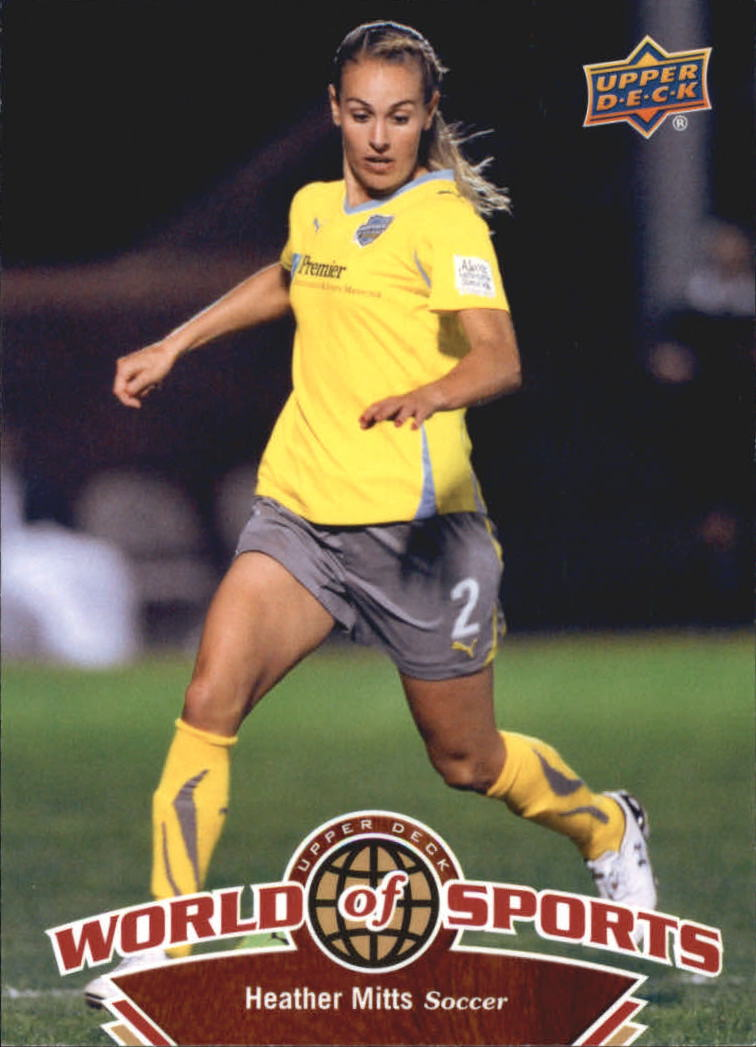 2010 Upper Deck World of Sports #107 Heather Mitts