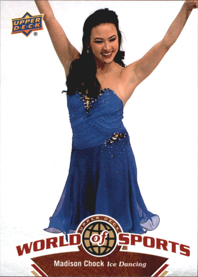 2010 Upper Deck World of Sports #209 Madison Chock