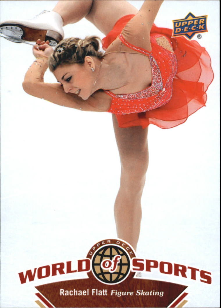 2010 Upper Deck World of Sports #211 Rachael Flatt