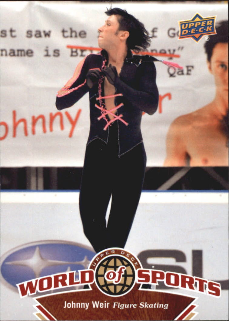 2010 Upper Deck World of Sports #220 Johnny Weir