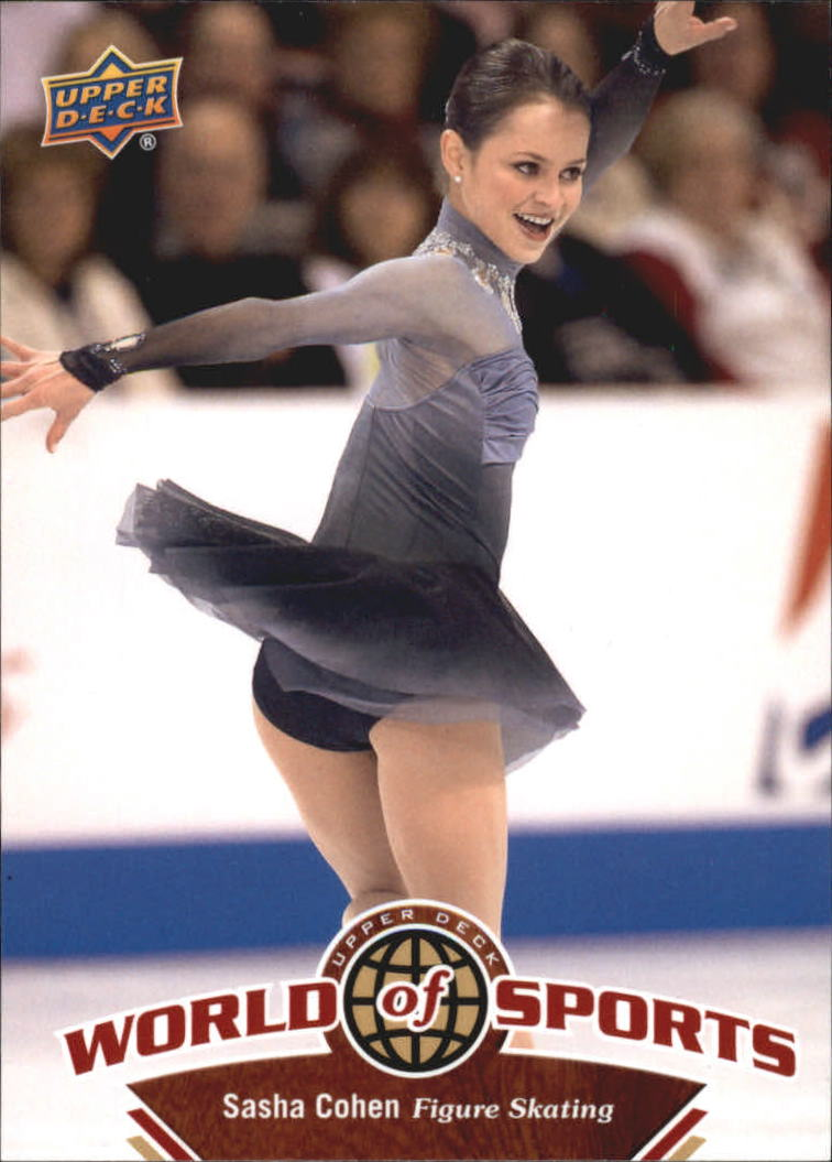 2010 Upper Deck World of Sports #223 Sasha Cohen