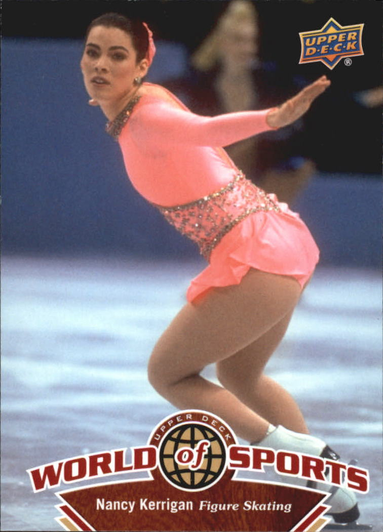 2010 Upper Deck World of Sports #228 Nancy Kerrigan