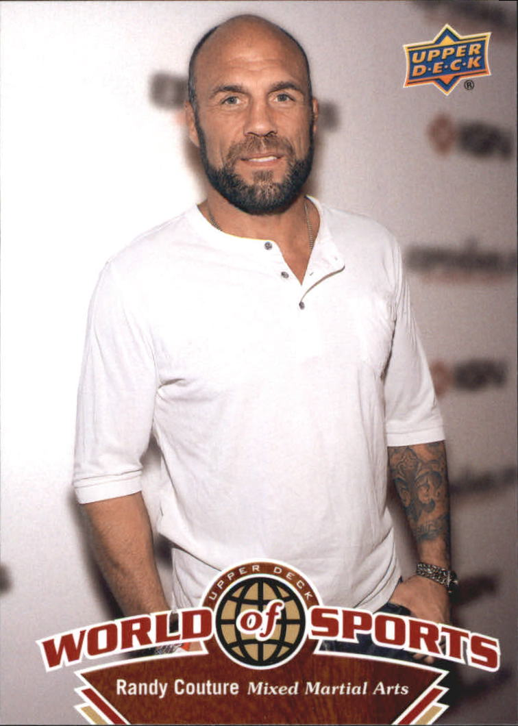 2010 Upper Deck World of Sports #255 Randy Couture