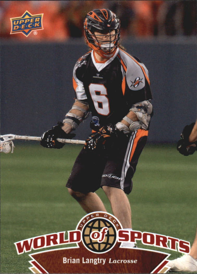 2010 Upper Deck World of Sports #263 Brian Langtry