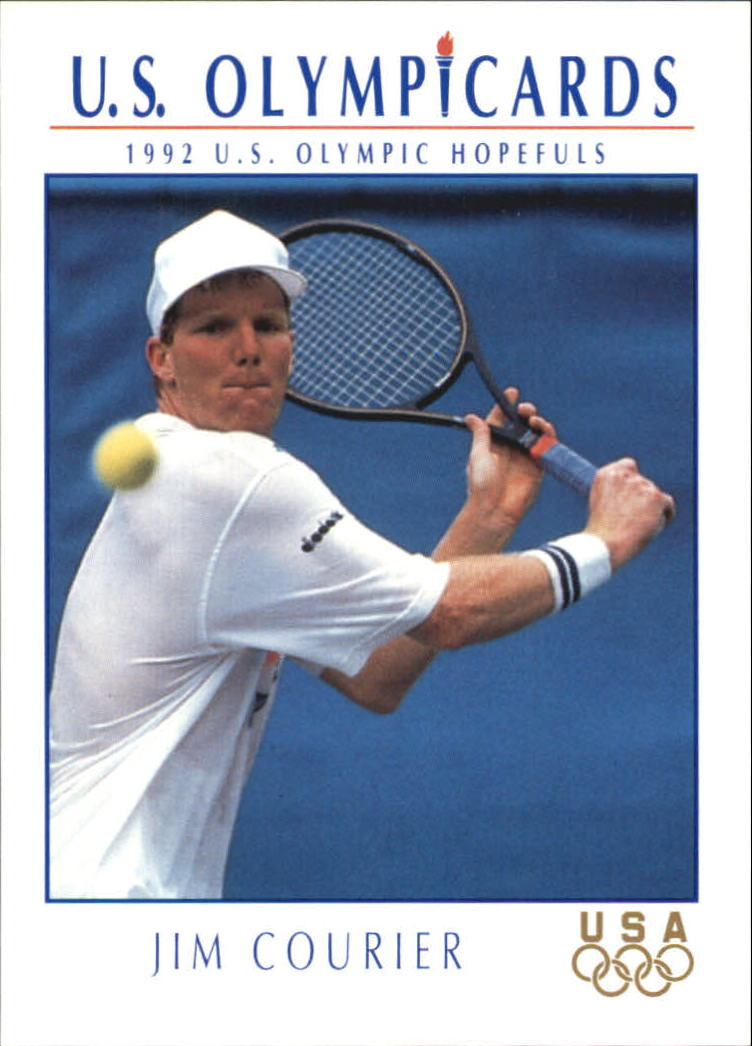 1992 Impel U.S. Olympic Hopefuls #82 Jim Courier/Tennis