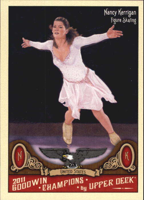 2011 Upper Deck Goodwin Champions #61 Nancy Kerrigan