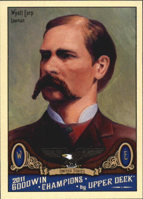 2011 Upper Deck Goodwin Champions #160 Wyatt Earp SP