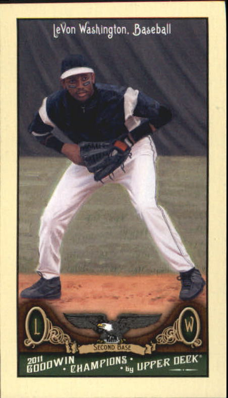2011 Upper Deck Goodwin Champions Mini #225 LeVon Washington SP