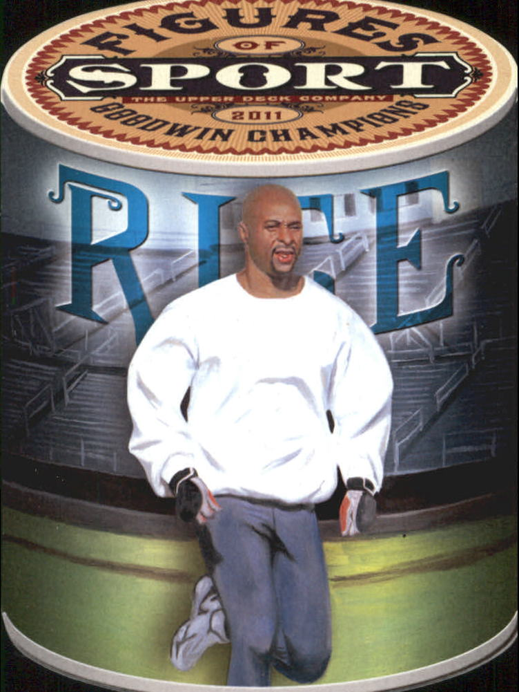 2011 Upper Deck Goodwin Champions Figures of Sport #FS2 Jerry Rice