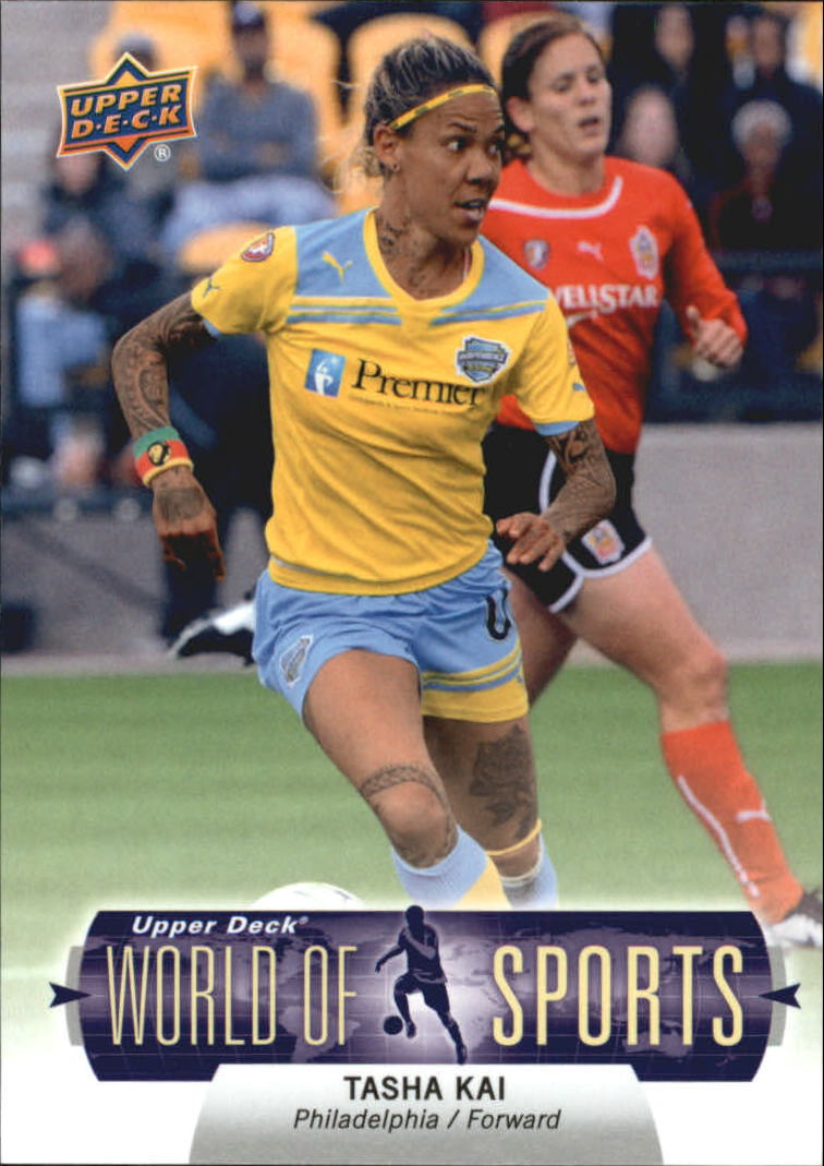 2011 Upper Deck World of Sports #251 Tasha Kai