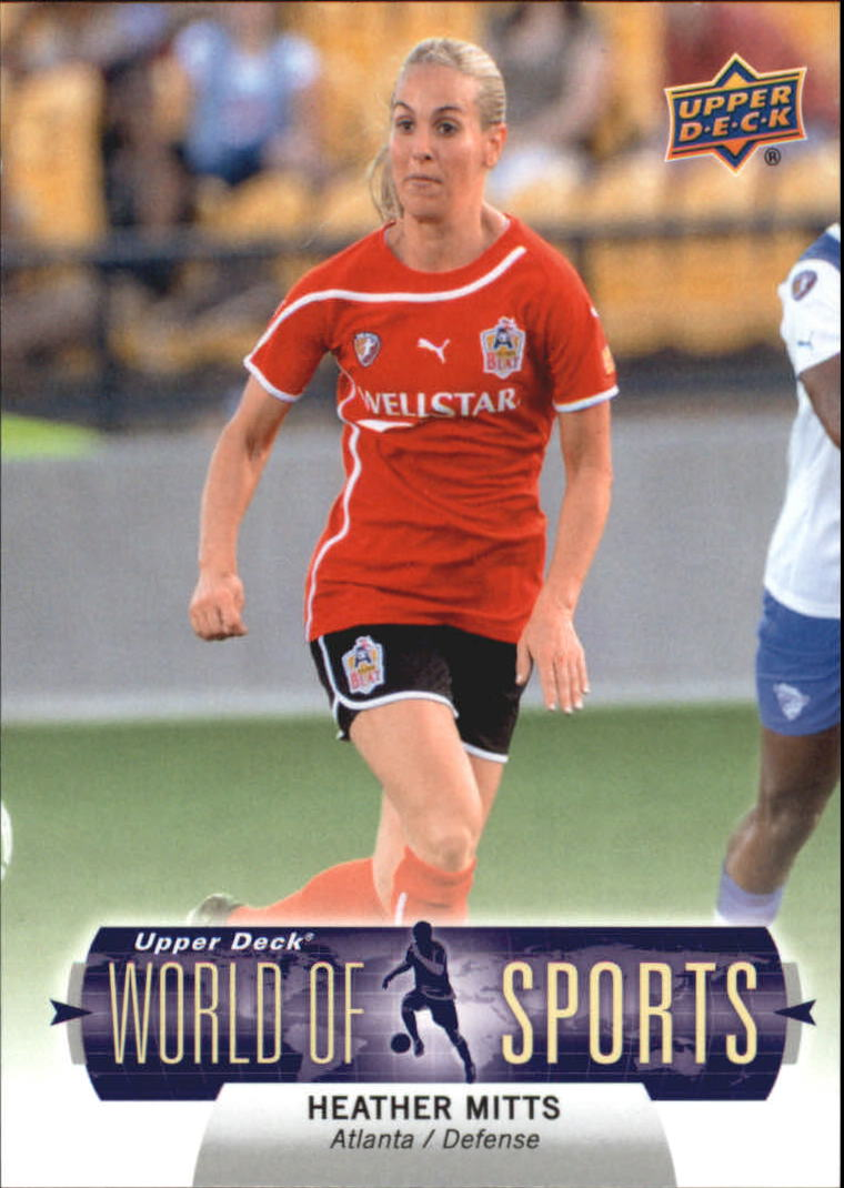 2011 Upper Deck World of Sports #267 Heather Mitts