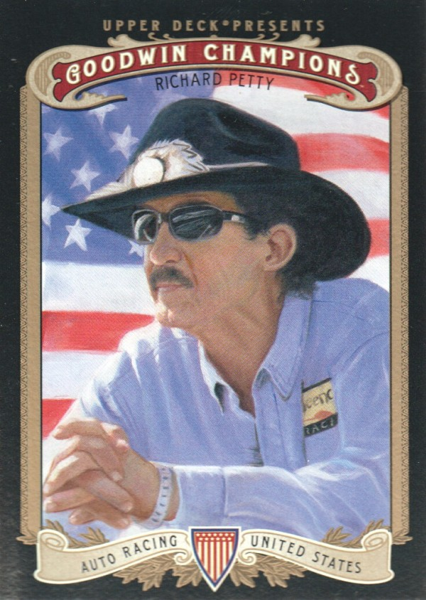 2012 Upper Deck Goodwin Champions #62 Richard Petty