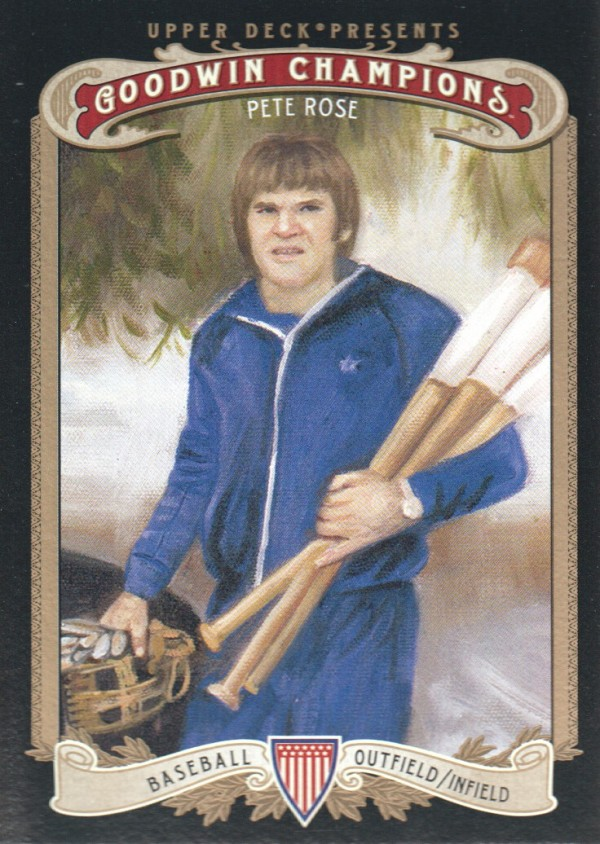 2012 Upper Deck Goodwin Champions #145A Pete Rose