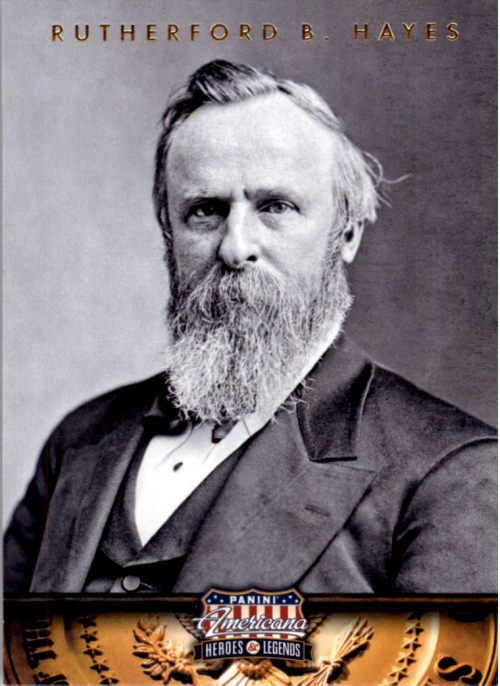 2012 Americana Heroes and Legends #19 Rutherford B. Hayes