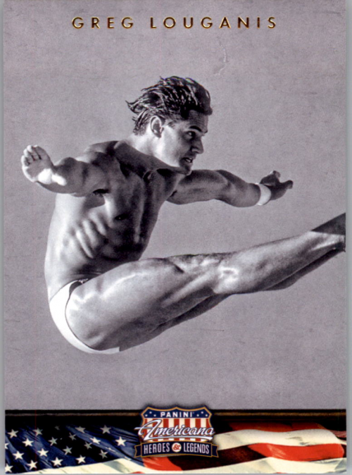 2012 Americana Heroes and Legends #94 Greg Louganis