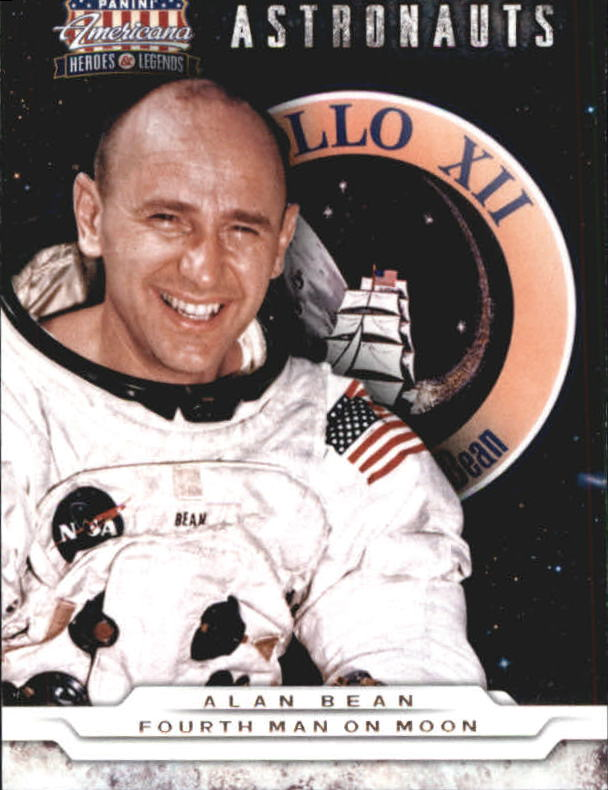 2012 Americana Heroes and Legends Astronauts #2 Alan Bean