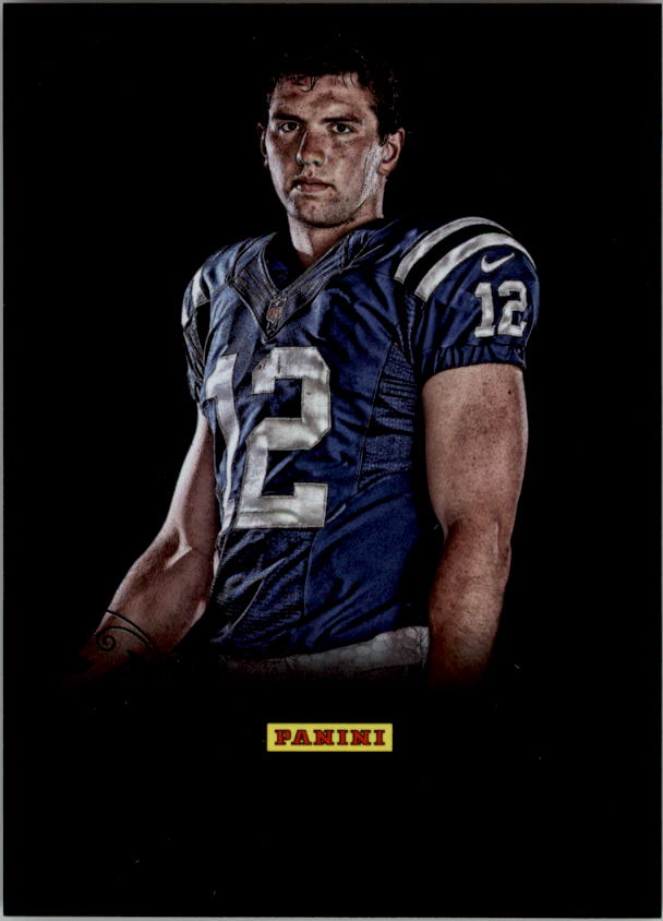 2012 Panini Black Friday Black Holofoil #14 Andrew Luck