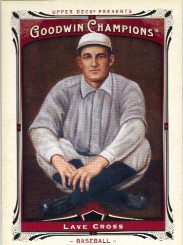2013 Upper Deck Goodwin Champions #199 Lave Cross SP