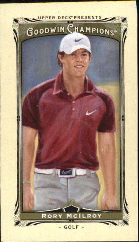 2013 Upper Deck Goodwin Champions Mini #2 Rory McIlroy