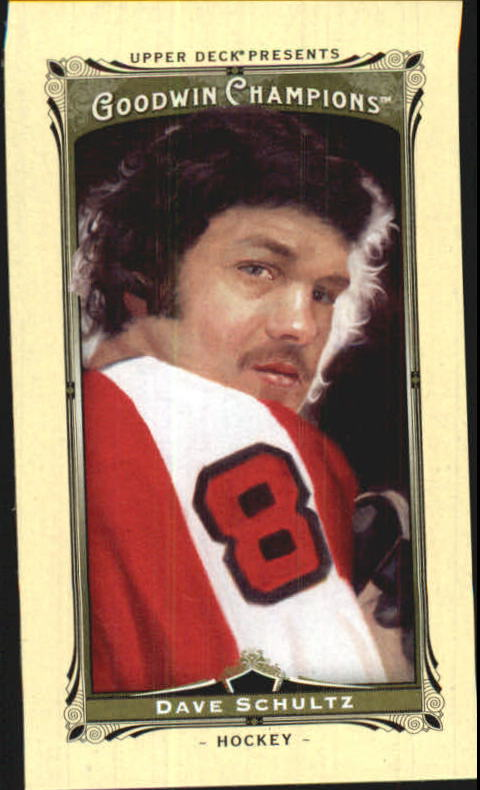 2013 Upper Deck Goodwin Champions Mini #29 Dave Schultz