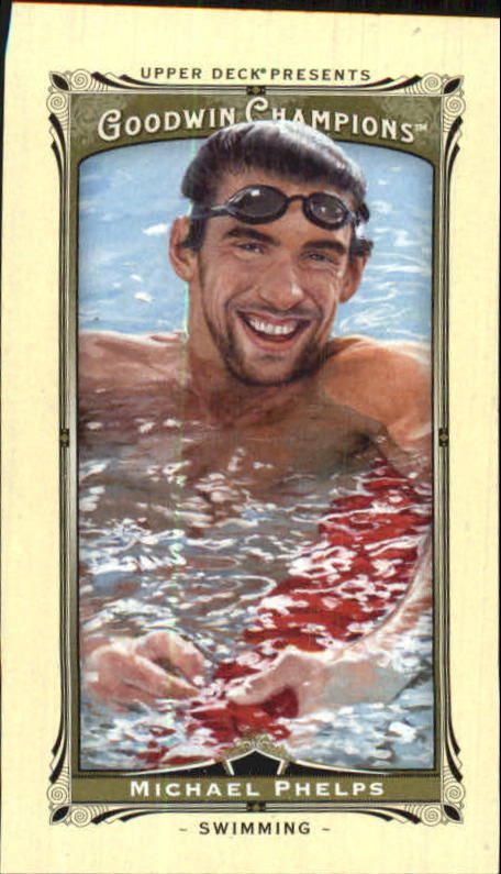 2013 Upper Deck Goodwin Champions Mini #92 Michael Phelps