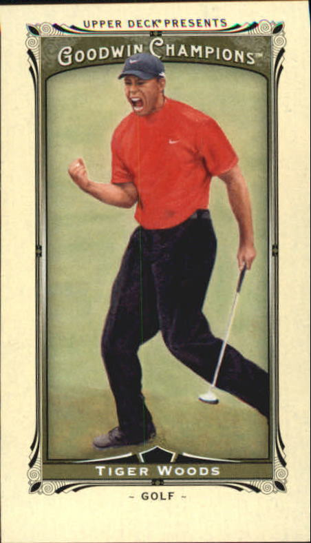 2013 Upper Deck Goodwin Champions Mini #143 Tiger Woods