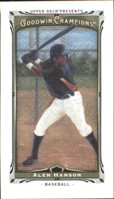 2013 Upper Deck Goodwin Champions Mini Canvas #225 Alen Hanson/198*